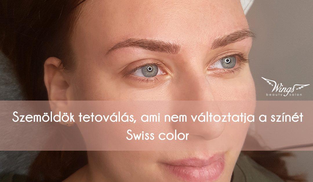 Szemöldök tetoválás, ami nem változtatja a színét – Swiss color